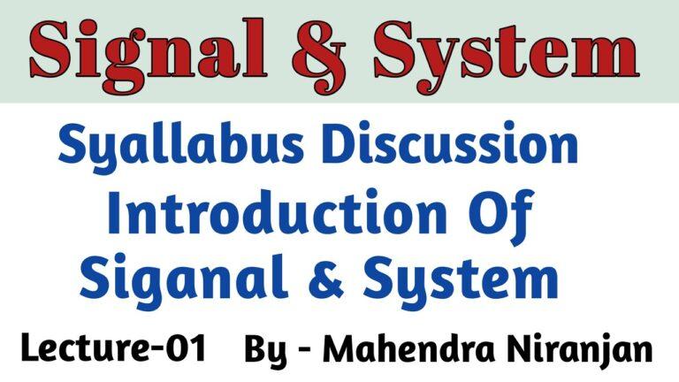Signal & System