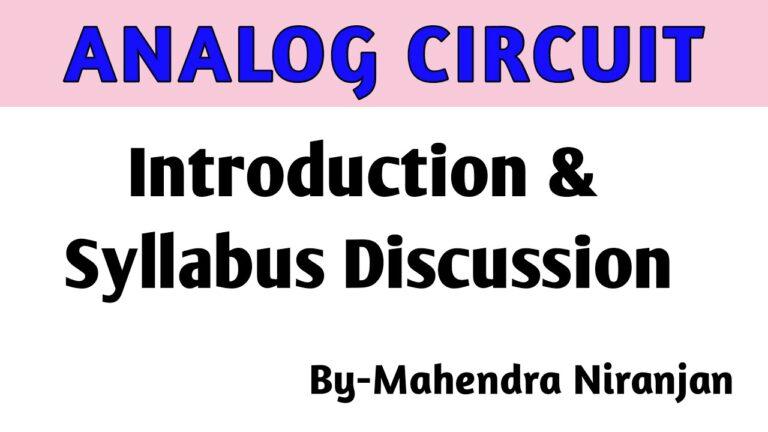 Analog Circuit