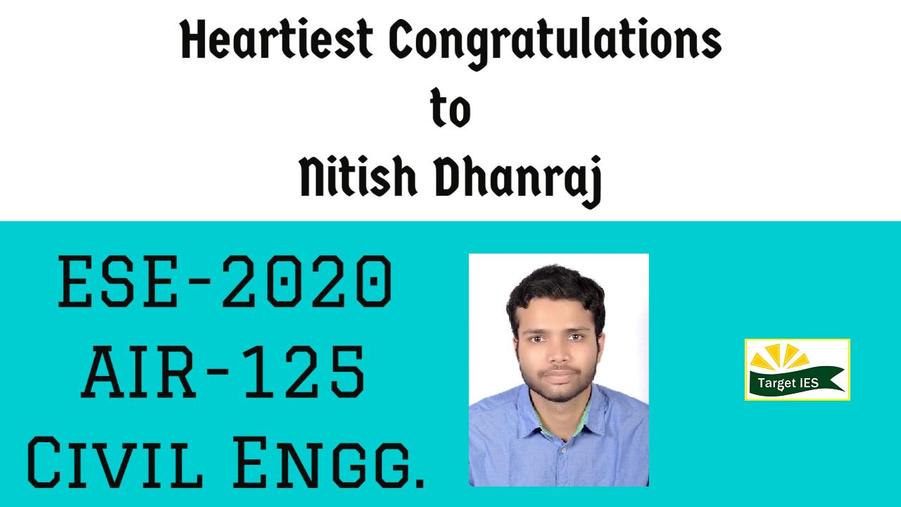 Nitish Dhanraj